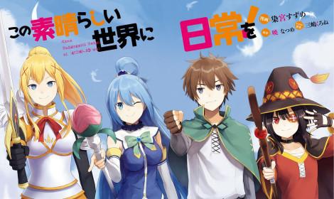 """Manga """"Kono Subarashii Sekai ni Nichijou wo!"""" chính thức kết thúc chặng đường!"""