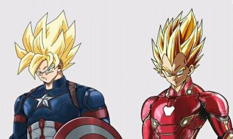 Phiên bản hợp nhất của Dragon Ball và Marvel!