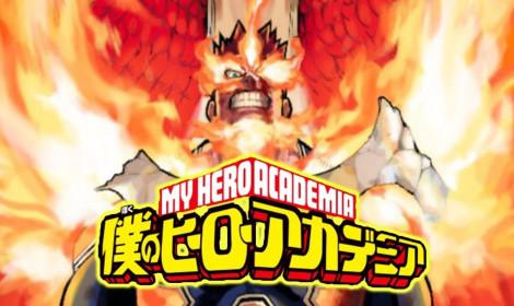 Manga Boku no Hero Academia đứng hạng 3 sách hình bán chạy nhất trên New York Times!