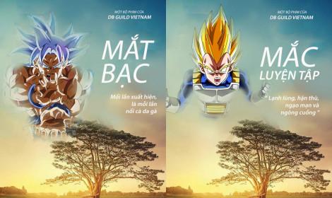 """""""Mắt Biếc"""" phiên bản bựa của Dragon Ball do fan tự chế!"""