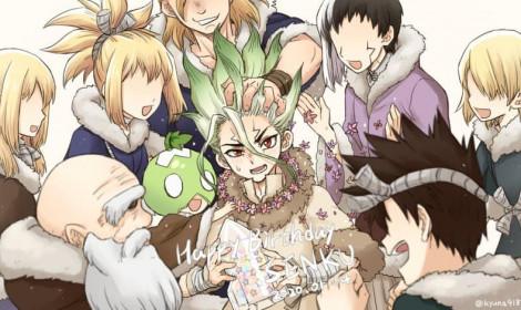 """Chúc mừng sinh nhật Senku Ishigami 3700+ tuổi - """"Bậc thầy khoa học""""!"""