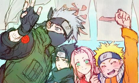 Bộ Naruto cực đẹp với những nét nguệch ngoạc tưởng chừng đơn giản!