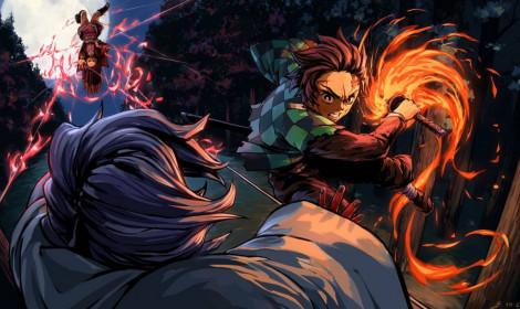 Kimetsu no Yaiba là bộ manga đầu tiên chiếm hết top 10 manga bán chạy nhất tuần ở Nhật!