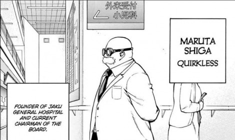Manga Boku no Hero Academia đã công bố lại tên nhân vật phản diện!