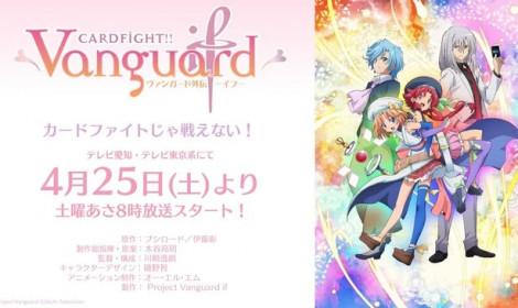 Cardfight!! Vanguard sẽ lên sóng phần mới trong tháng 4 này!