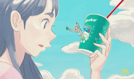 """McDonald's """"đổi gió"""" quảng cáo sản phẩm của mình bằng anime tại Nhật Bản!"""