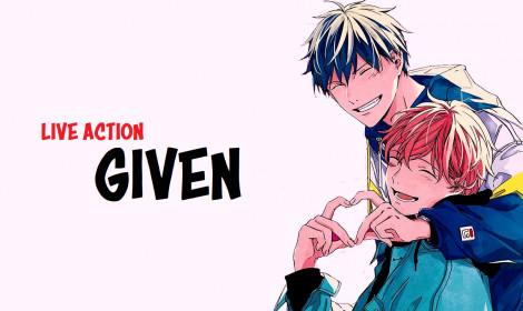 """Live action Given """"chán nghỉ dịch"""", công bố thời gian quay trở lại chính thức!"""