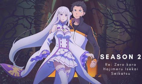 Top 10 anime mùa Hè 2020 tuần 3! - Re:Zero bức tốc, vượt sóng gió, trở thành ngôi vương!