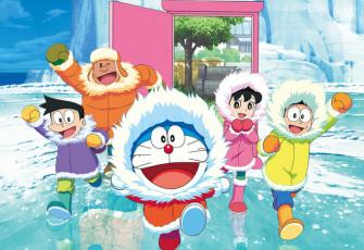 Nobita no Nankyoku Kachikochi Daibouken