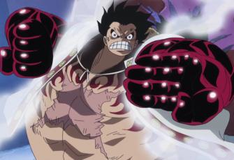 Luffy vs. Năng lực Bisu Bisu