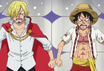 Luffy vs. Băng Hỏa Tăng.